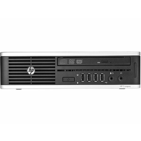 HP Compaq Elite 8300 USDT Desktop PC  i5-3470S 8 GB RAM 500 GB HDD DVD RW Win7Pro