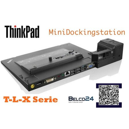 Lenovo Thinkpad Dockingstation 3 T410 T510 T520 T530 X220...